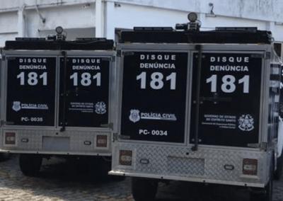 Polícia Civil de Vitória - Rabecão - Chevrolet S10