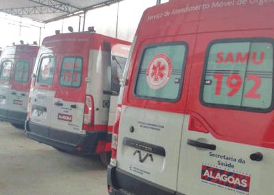 AMGESP - Secretária de Saúde de Alagoas - Renault L2H2