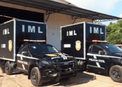 Sec. de Seg Pública do Acre – Chevrolet S10 – Rabecão