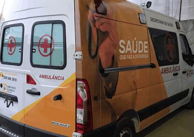Campo Novo do Parecis - Secretaria de Saúde - Renault Master L2H2