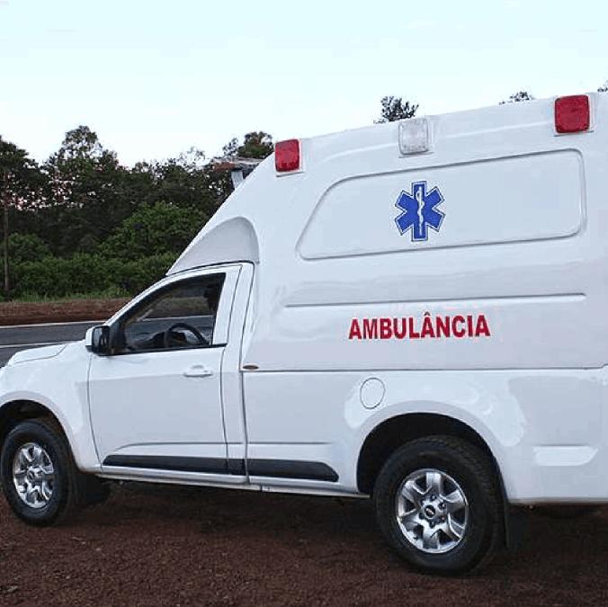 Pickup – Adaptado em Ambulância