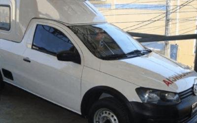 Saveiro – Adaptado em Ambulância