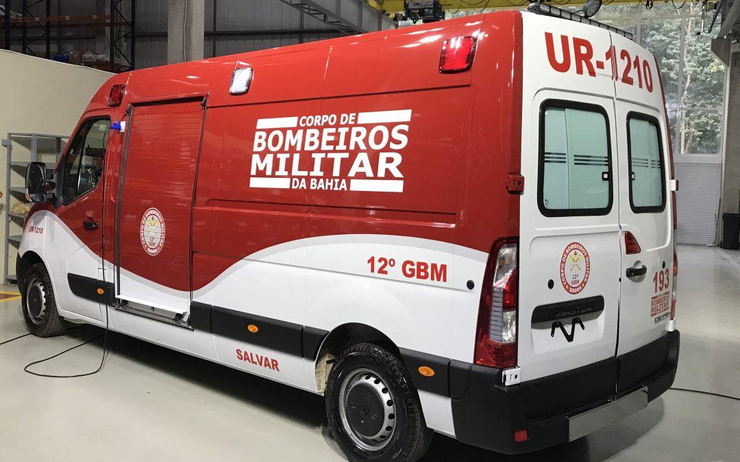 Ambulância Unidade de Resgate